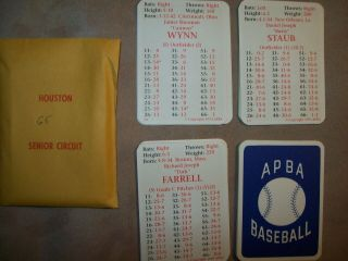 1965r Apba Baseball Cards With Master Game Symbols Complete - 1993 Printing