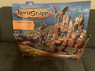 Heroscape Master Set: Rise Of The Valkyrie Board 99 Complete