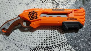 Nerf N - Strike Elite Roughcut 2x4 Nerf Pump Action Shotgun Orange