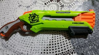 Nerf N - Strike Elite Roughcut 2x4 Pump Action Shotgun Green No Ammo