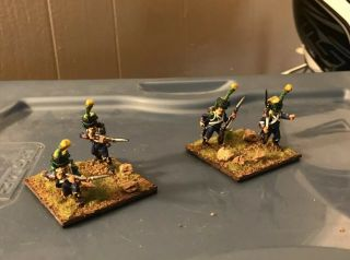 28mm Napoleonic French 3rd Legere 4 Men Absolutely Prof Painted