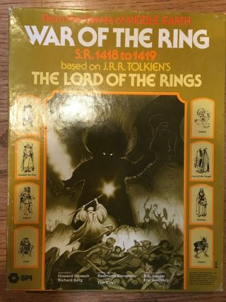 Spi War Of The Ring Designer