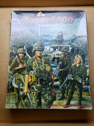 Gdw Twilight 2000 Twilight - 2000 (1st Edition) Box Fair