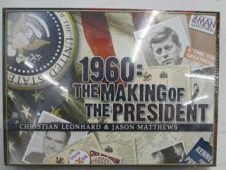 1960: The Making Of The President Boardgame Z - Man Games 2 Player Nib