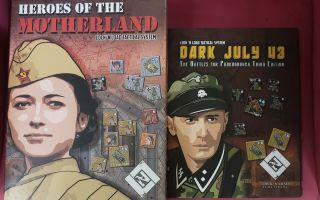 Heroes Of The Motherland (2nd Printing) Plus X Maps And Dark July