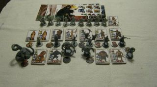 Monolith Conan & Allies Plus The Evil Overlord Minions,  Great Miniatures For Rpg