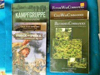 Gw Wh Historical Kampfgruppe Normandy / Force On Force / Blitzkreig Commander,