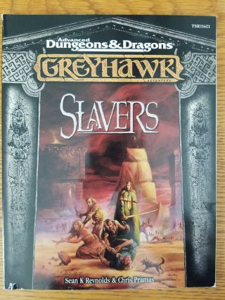 Slavers: Greyhawk Ad&d 3rd Edition Game Module Tsr11621