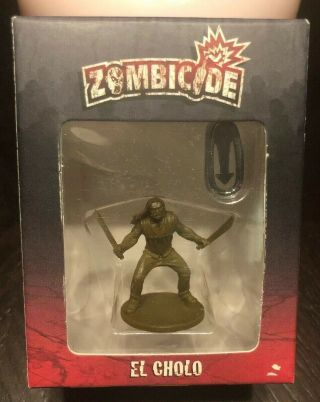 Zombicide Cool Mini Or Not Boardgame Promo 2 Figure - El Cholo