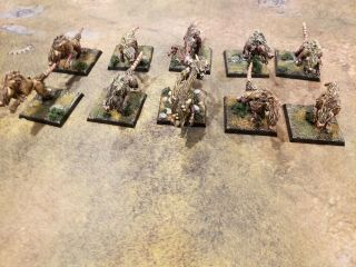 Warhammer Age Of Sigmar Skaven Wolf Rats Conversion (made Out Of Direwolves)