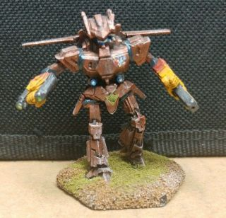 Battletech Iwm 20 - 5112 Pewter Insane Kangaroo Painted Agrotera Mech