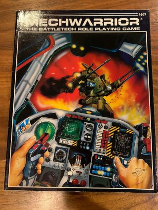 Mechwarrior The Battletech Role Playing Game Book 1607