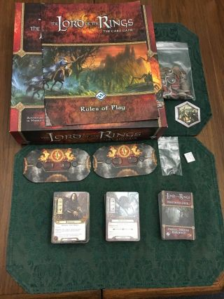 Lord Of The Rings Lcg Core Set Plus Nightmare Decks