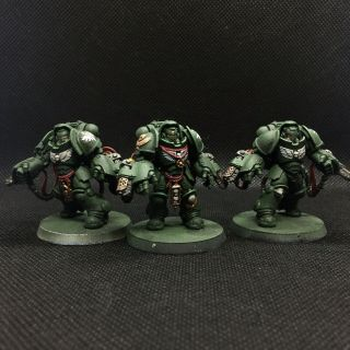Warhammer 40k Dark Angels Primaris Aggressors Tts Painted