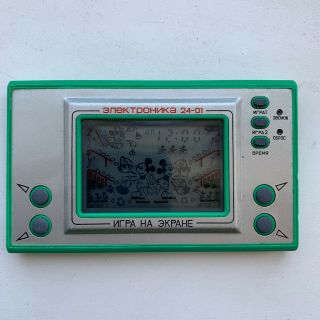 Elektronika Game & Watch Mickey Mouse 24 - 01 Ussr - Clone Nintendo Mc - 25