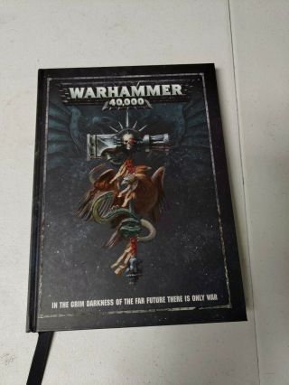 Warhammer 40k Rulebook - 8th Edition Games Workshop Hardcover