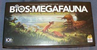 Bios: Megafauna Mutate Speciate Populate Second Edition Board Game Sierra Madre