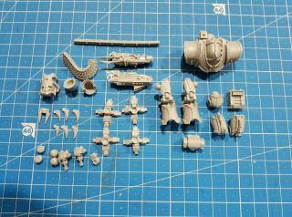 Warhammer 40k Castellax - Achea Battle - Automata With Mauler Pattern Bolt Cannon