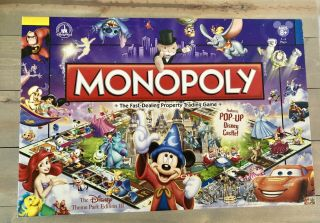 Disney Theme Park Edition Iii Monopoly