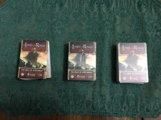 Lord Of The Rings Lcg Complete The Siege Of Annuminas Scenario Kit
