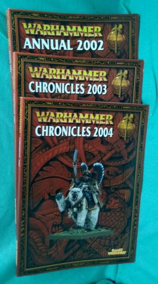 Warhammer Fantasy 8th Edition Annual Book 2002,  2003,  2004