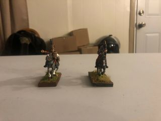 28mm Napoleonic Austrian Mounted General W/adc,  Professionally Painted