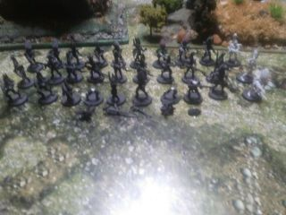 Warhammer 40k Dark Eldar Kabalite Warriors 27 Basic Warriors 3 With Dark Lances.