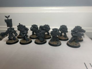 Warhammer 40k Space Marines Blood Angel Tactical Squad