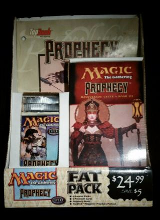 Magic The Gathering Mtg Prophecy Fat Pack - -