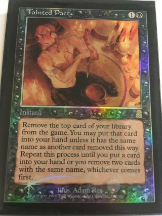 Tainted Pact - Foil - Odyssey (ody) - Nm - Magic The Gathering