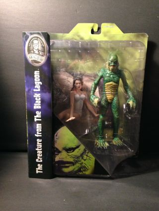 Creature From The Black Lagoon & Julie Adams Action Figure Universal Monsters Fx