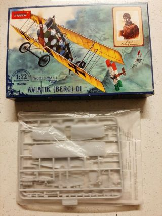 1/72 Toko Aviatik Berg D.  I Austro - Hungarian Wwi Fighter,  Oop,  Rare