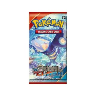 35 Xy Primal Clash Booster Packs