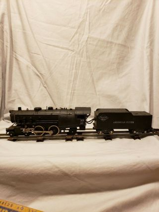 Vintage Gilbert Toys American Flyer Engine 300ac With Reading Line Coal Tender