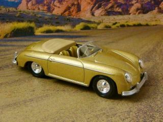 1958 58 Porsche Speedster 356 A Roadster Sports Car 1/64 Scale Limited Edition Q