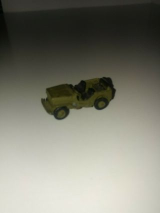 Comet Authenticast World War Ii Us Willy's Jeep 5160.  Wheels Roll
