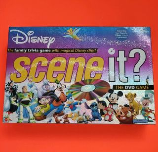 """Disney """"scene It?"""" Dvd Game - 2004 Edition.  Complete Collectible"""