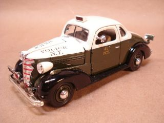 National Motor Museum 1/32 1938 Chevy Master Deluxe Coupe Police Car Ss - C5110b