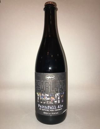 Dogfish Head Craft Brewery Pearl Jam Twenty Faithfull Ale Beer (2011) Rare