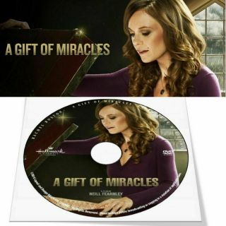 A Gift Of Miracles 2015 Hallmark Movie - Rachel Boston (dvd Only Generic Case)