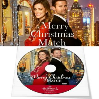 A Merry Christmas Match 2019 Hallmark Movie (dvd Only Generic Case)