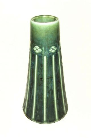 "Rookwood Pottery 6.  5 "" Green Mission Arts Crafts Vase Shape 1769 "" P "" - Xvi - 1916"
