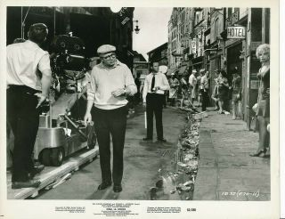 Director Billy Wilder Jack Lemmon Camera Crew Candid Vintage Irma La Douce Photo