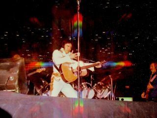 Photo - Elvis Photo With Rainbow From Camera - Rare Shot 3