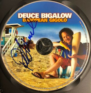 Rob Schneider Signed Deuce Bigalow Dvd Autographed Proof Pic