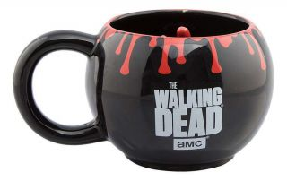 Official The Walking Dead 3d Round Hand Coffee Mug Cup And Gift Boxed