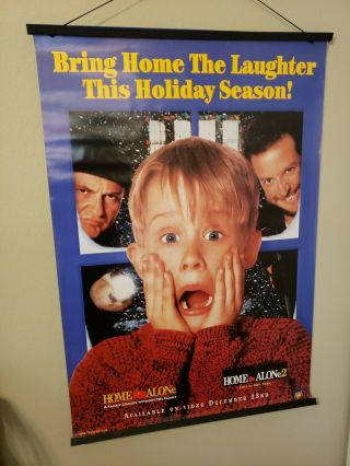 Home Alone / Home Alone 2 Dvd Promotional Poster