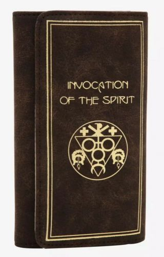 The Craft Invocation Of The Spirit Wallet Hot Topic
