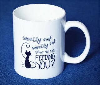 Tv Serious Friends Phoebe Song Smelly Cat Print Mug Cup Ceramics Coffee Cup Mug