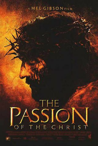 The Passion Of The Christ (2004) Dvd/video Poster - S - Sided - Rolled
